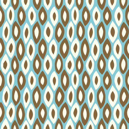 Paper cutout retro background. Seamless pattern. Vector. 矢量图像