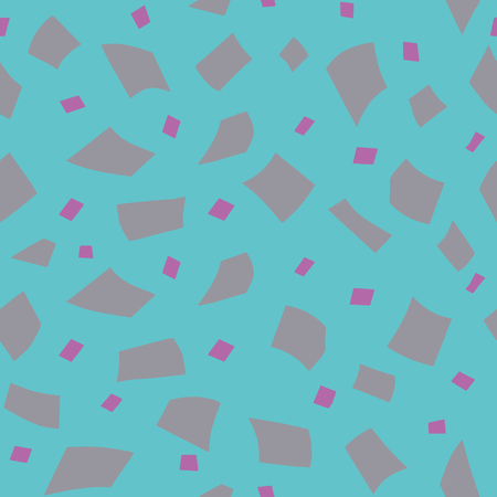 Random confetti background. Seamless pattern. Vector. Иллюстрация