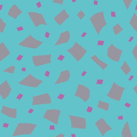 Random confetti background. Seamless pattern. Vector. Illustration