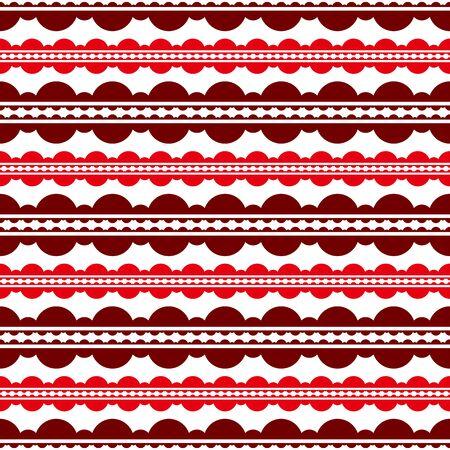 consecutive: Consecutive circles background. Seamless pattern. Vector.