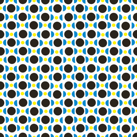 circles pattern: Random circles background. Seamless pattern. Vector. Illustration