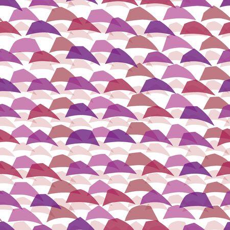 ランダムな抽象的な波の背景。シームレス パターン。ベクトル。