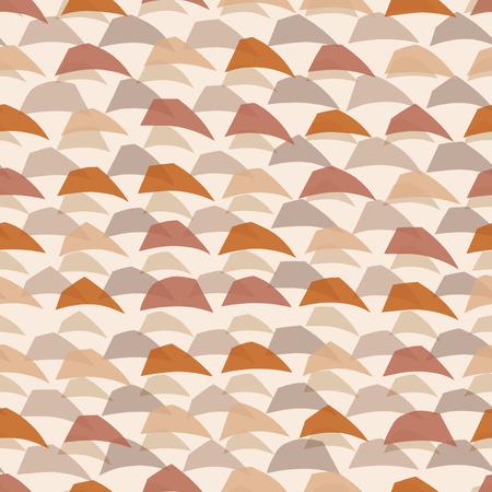 random: Random abstract wave background. Seamless pattern. Vector.