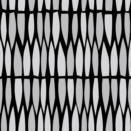 sharply: Background of sharply pointed shapes. Seamless pattern. Vector.