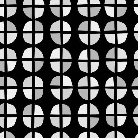 무작위 기하학적 배경입니다. 원활한 패턴입니다. 벡터. 일러스트