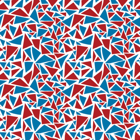 tile pattern: Random triangle background. Seamless pattern. Vector.