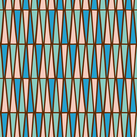 triangular: Triangular background. Seamless pattern. Vector. Illustration