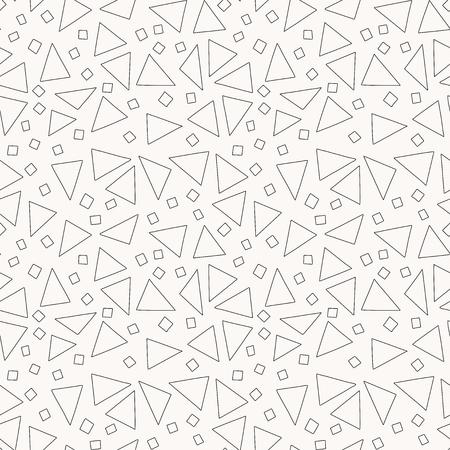 Funny geometric background. Seamless pattern. Vector. Illusztráció
