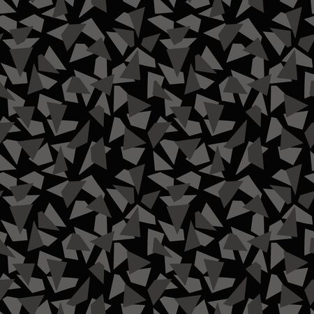 monotone: Random abstract geometric background. Seamless pattern. Vector.