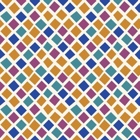 Random geometric background. Seamless pattern. Vector. Illustration