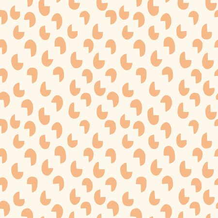 chipped: Chipped circles background. Seamless pattern. Vector.