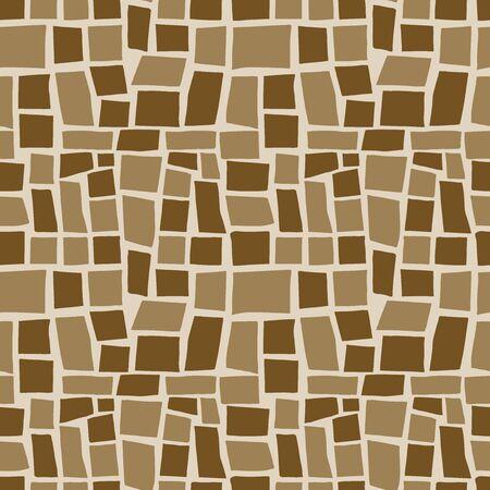 Random geometric background. Seamless pattern. Vector. Illusztráció