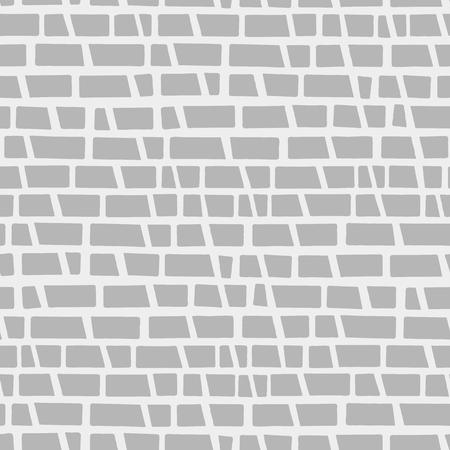 Random geometric background. Seamless pattern. Vector.