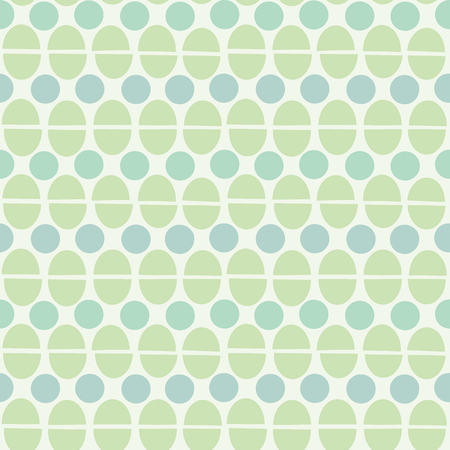 semicircle: Abstract circles and semicircles background. Seamless pattern. Vector. Illustration