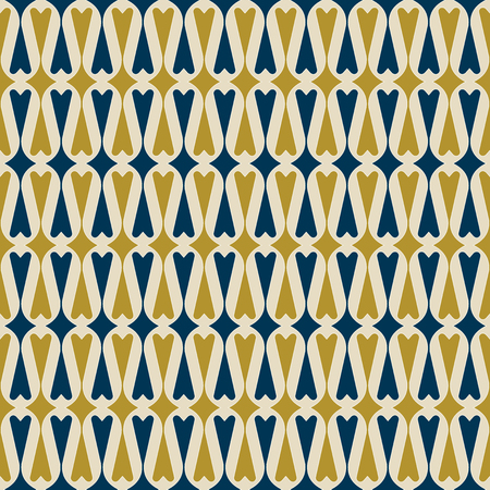 textured wall: Retro heart background. Seamless pattern. Vector. Illustration