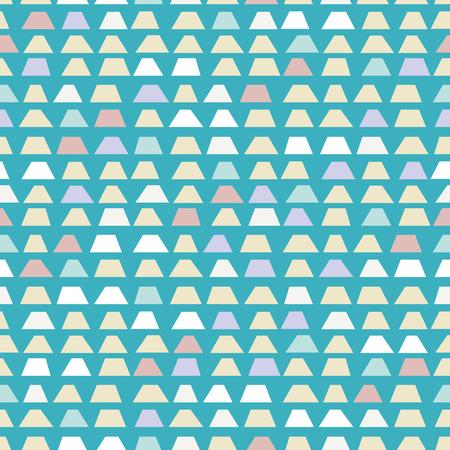 trapezoid: Random trapezoid background. Seamless pattern. Vector. Illustration