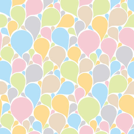 congested: Congested balloons background. Seamless pattern. Vector.