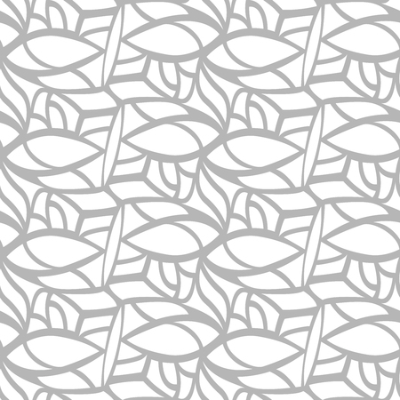 grey pattern: Background elegance. Seamless pattern. Vector.