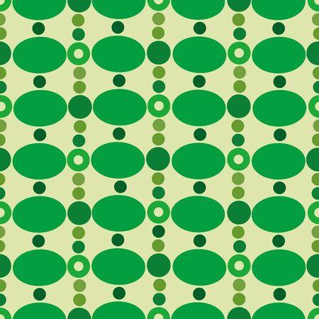 random: Retro background of random circles. Seamless pattern.