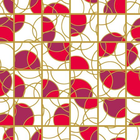 lattice: Japanese lattice background. Seamless pattern.