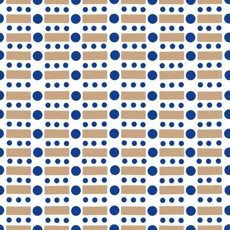 random: Random geometric background. Seamless pattern.