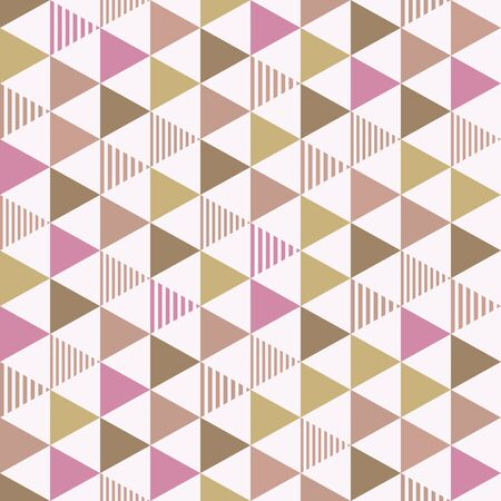 construction paper art: The background of the triangle. Seamless pattern. Vector.