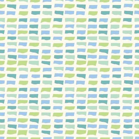 random: Random geometric wavy background. Seamless pattern. Vector.