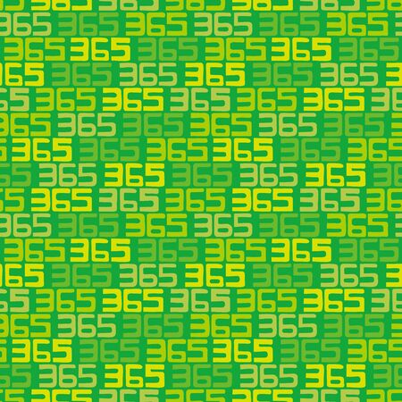 numbers background: 365 numbers background. Seamless pattern. Vector. Illustration
