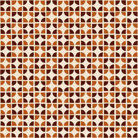 random: Random geometric background. Seamless pattern. Vector. Illustration