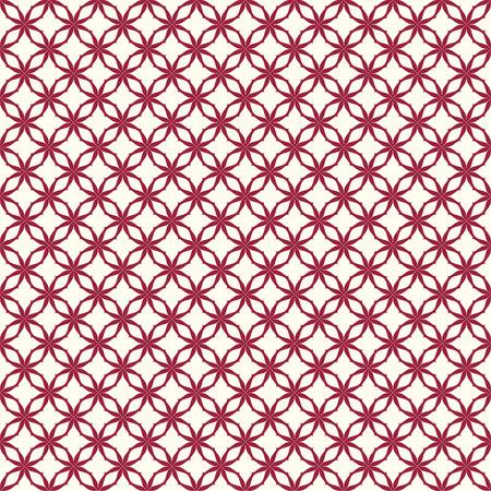 日本の背景。シームレス パターン。ベクトル。
