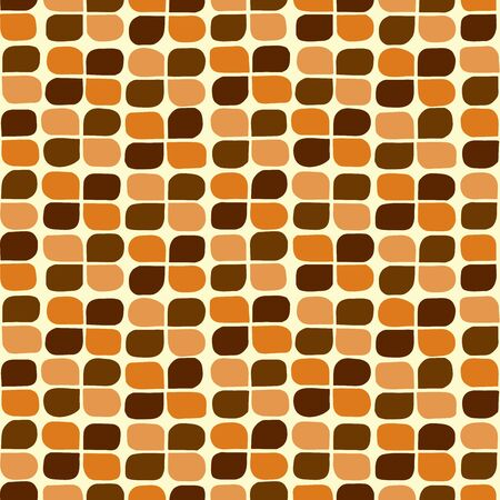 clover background: Retro clover background. Seamless pattern. Vector.