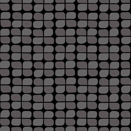 seamless clover: Retro clover background. Seamless pattern. Vector.
