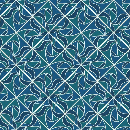 elegance: Elegance rhombus background. Seamless pattern. Vector.