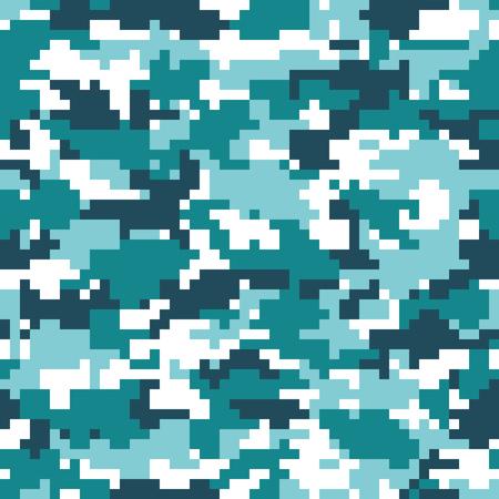 Digital camouflage background. Seamless pattern vector. Illustration