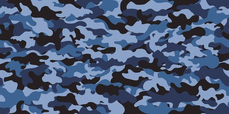 Camouflage background. Seamless pattern vector. Иллюстрация
