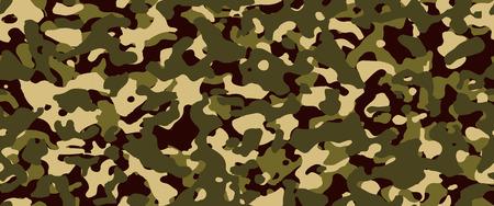 Fond de camouflage. Vecteur de modèle sans couture.