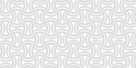 Stylish wavy background. Seamless pattern. Vector.