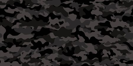 Camouflage background. Seamless pattern vector. Vettoriali