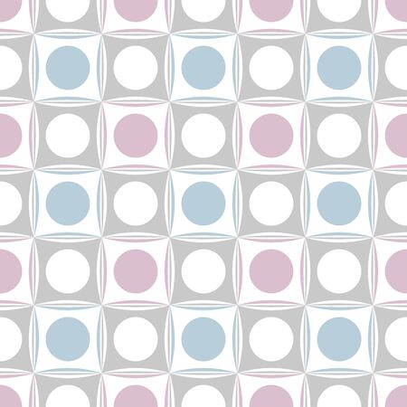 Modern geometric background. Seamless pattern. Vector.