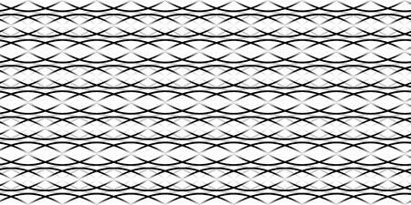 Stylish wavy background. Seamless pattern. Vector.