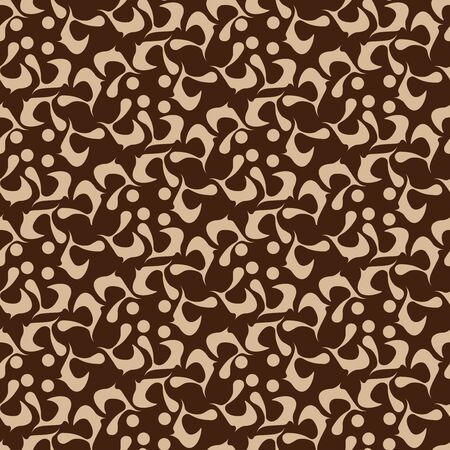Japanese background. Seamless pattern. Vector.