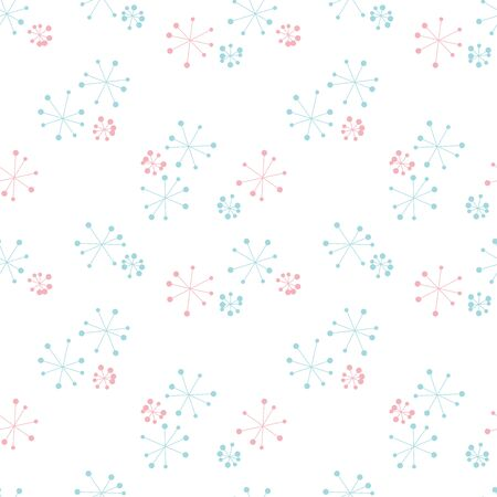 organic motif background. Seamless pattern. Vector. Ilustrace