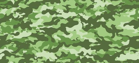 Camouflage background. Seamless pattern. Vector. Outdoor images.