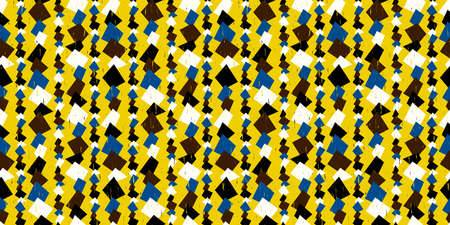 Retro geometric background. Seamless pattern. Vector. Standard-Bild - 163001794