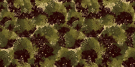 Camouflage background. Seamless pattern vector. Illustration