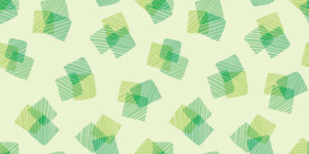 Doodle shapes background. Seamless pattern. Vector.
