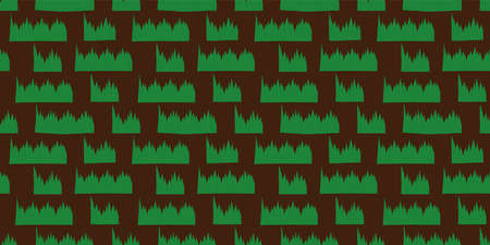 Leaves of plants used for partitioning or decoration pattern. seamless. Vector.