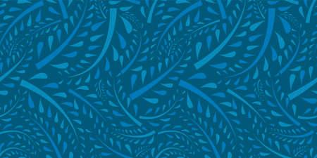 Organic motif background. Seamless pattern.Vector.
