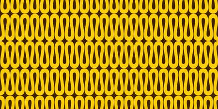 Wavy retro background. Seamless pattern.Vector. Illustration