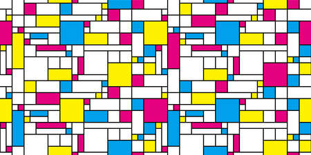 Geometric background. Seamless pattern. Vector. Illustration